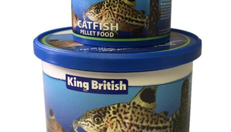 King British Catfish Pellets 65g & 200g
