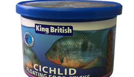 King British Cichlids Floating Food Sticks 100g