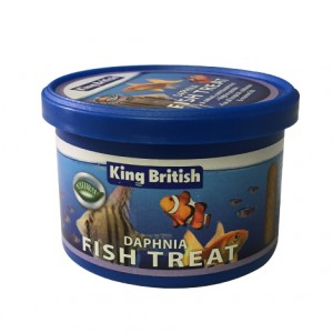 King British Daphnia Fish Treats 7g