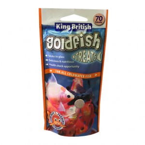 King British Goldfish Treats 70 Tablets