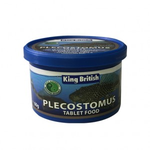 King British Plecostomus Tablets 60g