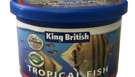 King British Tropical Fish Food Mix 25g