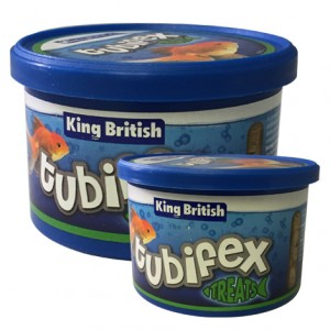 King British Tubifex Treats 10g & 35g