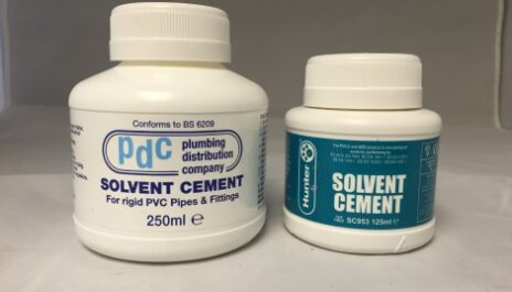 Kockney koi docent cement glue. For solvent weld fittings.