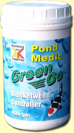 Kockney koi pond medic green go 800gm sedgley road aquarium for Koi pool opening times